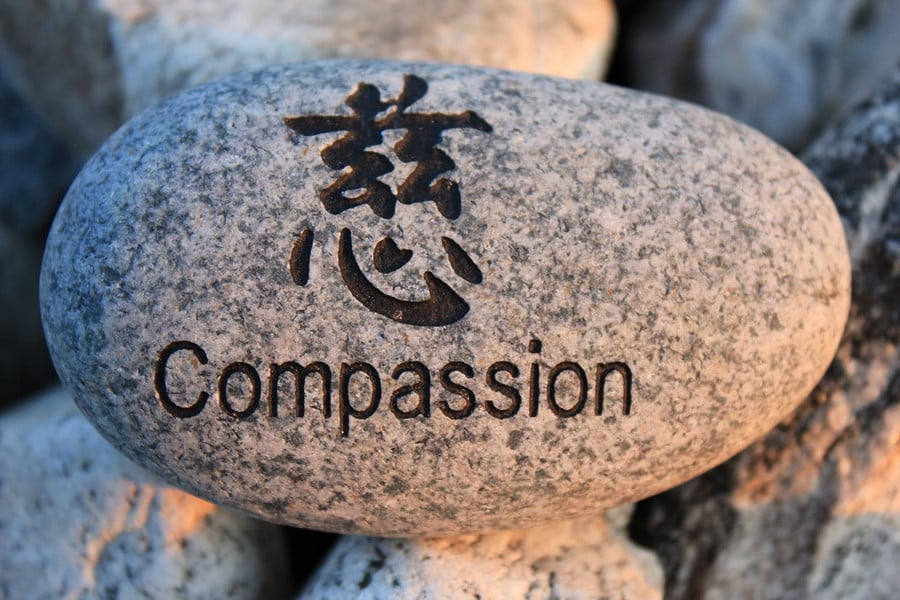 A little help :) on my research paper about compassion?