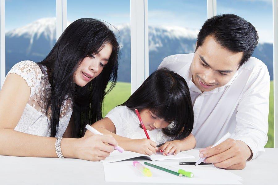 Parent help for homework
